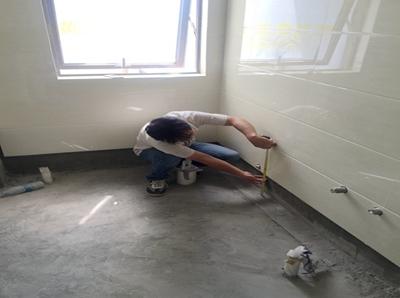 检测瓷砖离地面距离