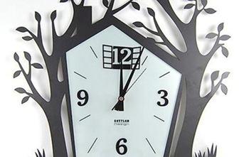 老房翻新挂钟玩出新创意