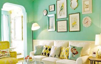 色彩搭配让老房翻新的更美