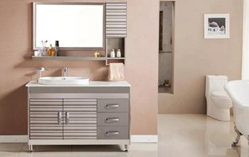 苏州二手房装修之不锈钢浴室柜怎么选购