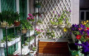 苏州二手房装修之巧用阳台小空间,打造自己的小天地