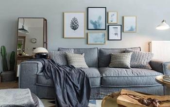 除了简单刷漆,沙发墙还可以这样装饰!