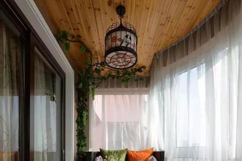 老房翻新 些情况下建议阳台吊顶?