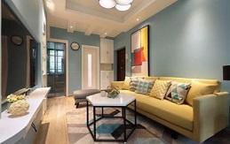 小型二手房装修之后,可以通过软装放大空间