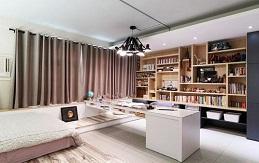 二手房装修如何在融入藏书?打造家庭图书馆