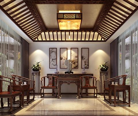时尚的中式风格装修:苏州庭院