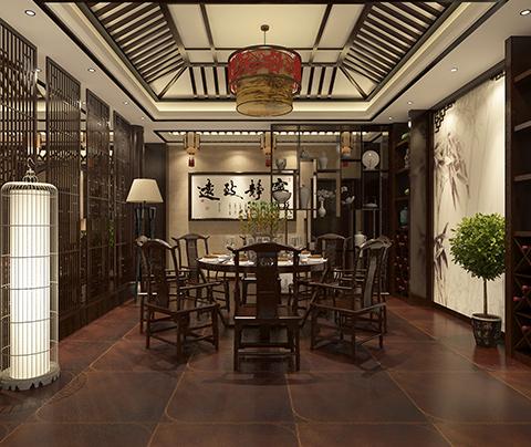 中式装修风格:苏州藏书老街