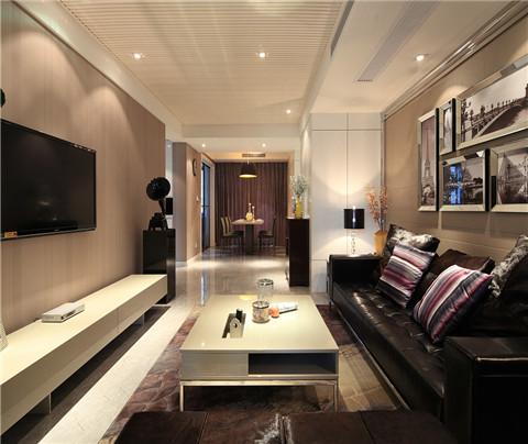 现代简约风格:阳光城景丽湾(客厅)