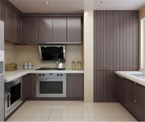典雅的新中式风格装修:大湖城邦(厨房)
