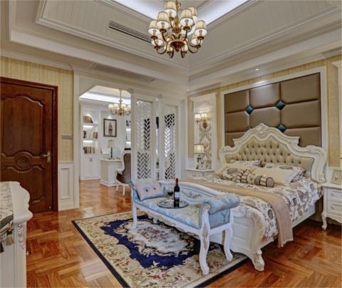 欧式风格:狮山名门(卧室)