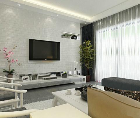 新中式风格:东沙湖邻里中心(客厅)