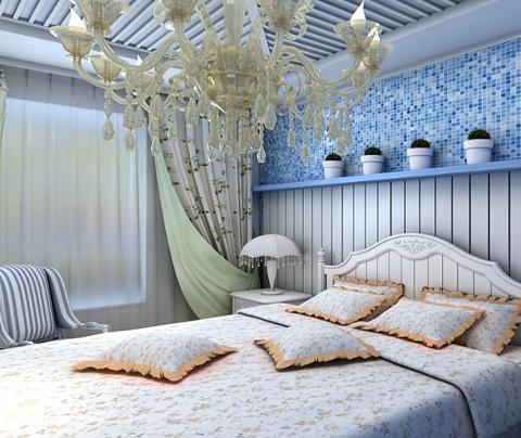 地中海风格:汇翠花园(卧室)