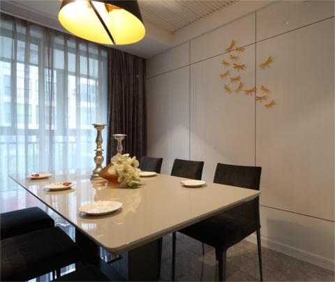 现代简约风格:阳光城景丽湾(餐厅)