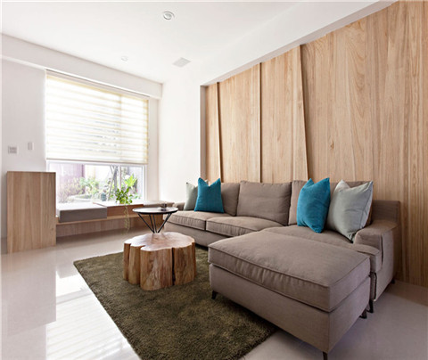 现代简约:澄和家园(客厅)
