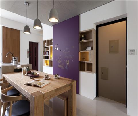 现代简约:澄和家园(餐厅)