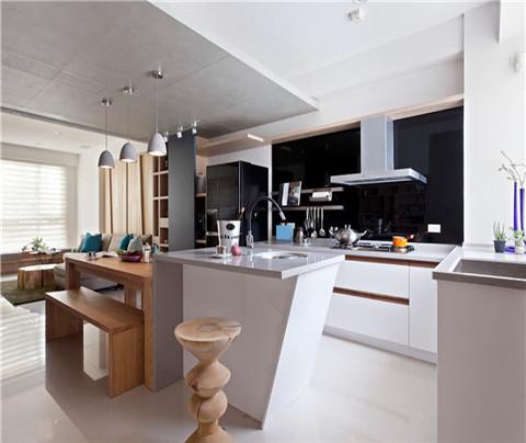 现代简约:澄和家园(厨房)
