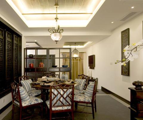 中式风格:四季晶华(餐厅)